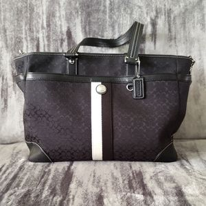 Coach #A1091-F13813 Voyager Travel Diaper Bag Tote